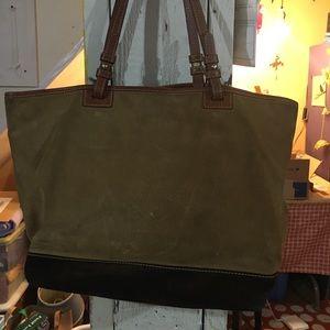Dooney & Bourke Bags - Dooney and Bourke suede shoulder bag.